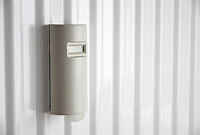 Elektronischer Heizkostenverteiler errechnen den Verbrauch der Heizenergie.