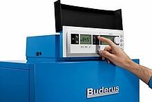 Gas-Brennwertkessel der Firma Buderus