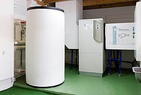 Luft-Wasser-Wärmepumpe im Altbau mit Pufferspeicher